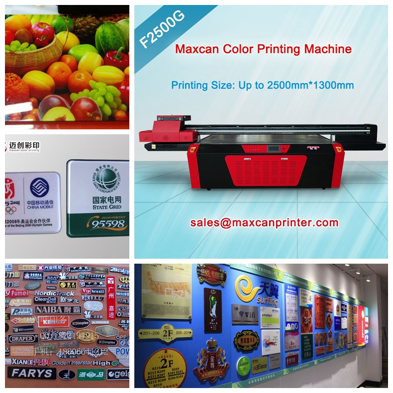 metal signs printing machine
