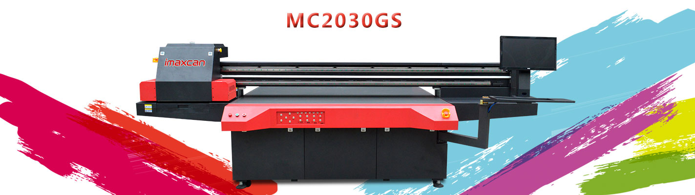 UV flatbed printer operating steps and configuration