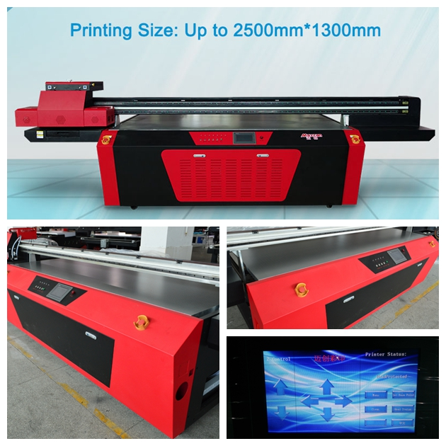 F2500G uv flatbed printers