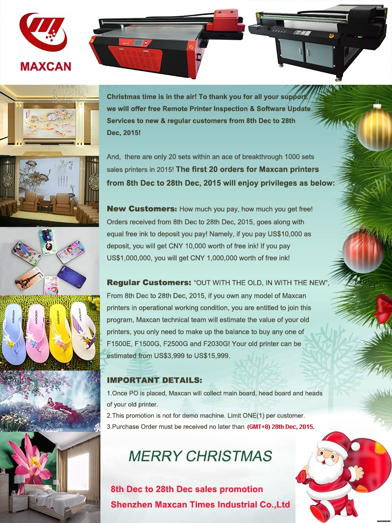 Christmas sales promotion, Shenzhen Maxcan Times Industrial Co.,Ltd