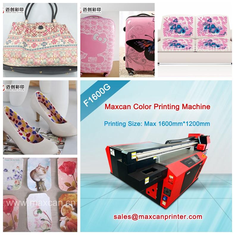 F1600G Inkjet Leather Printing Machine   UV flatbed printer