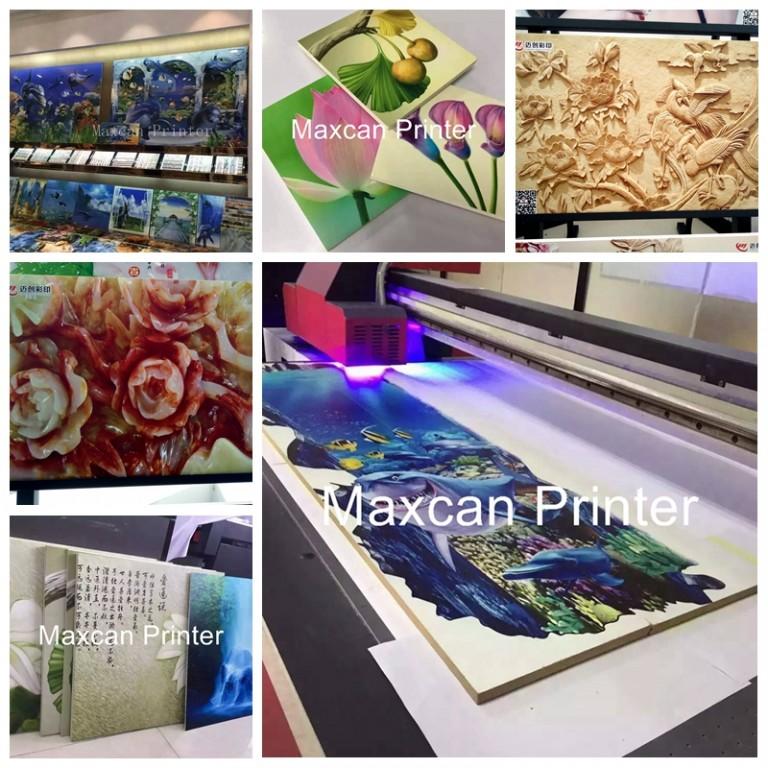 Printing on ceramic tiles