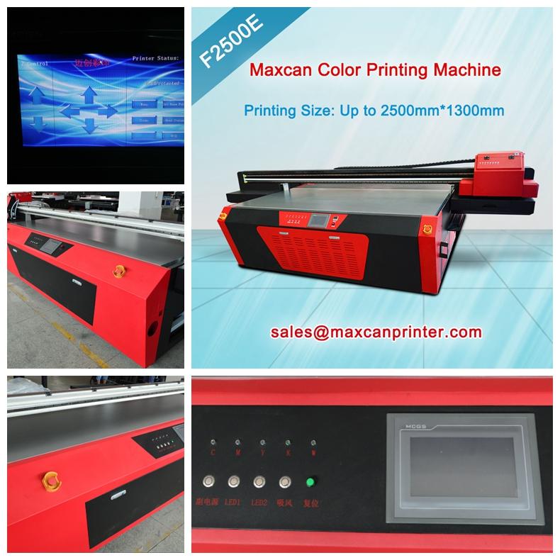 Steel cabinet printer machine