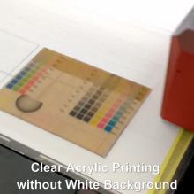 Acrylic Printer machine