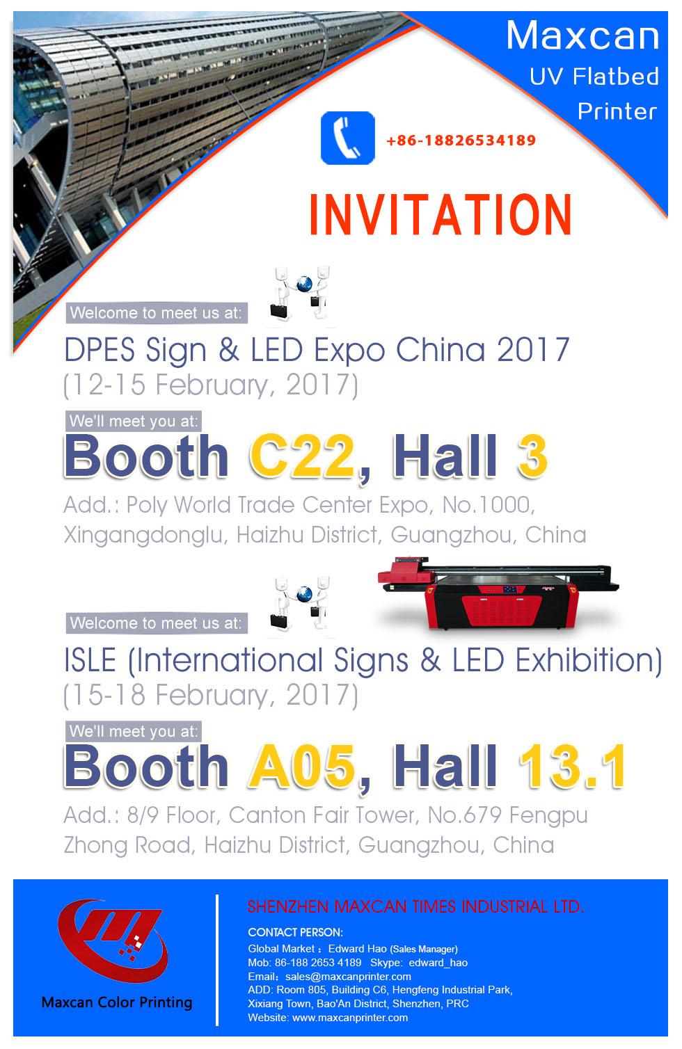 invitation of dpes and isle show