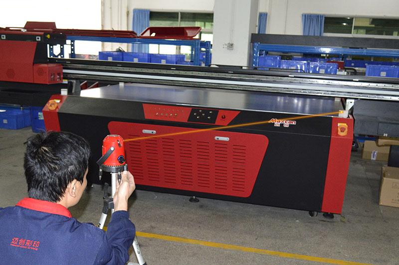 maxcan uv faltbed printer maintenance